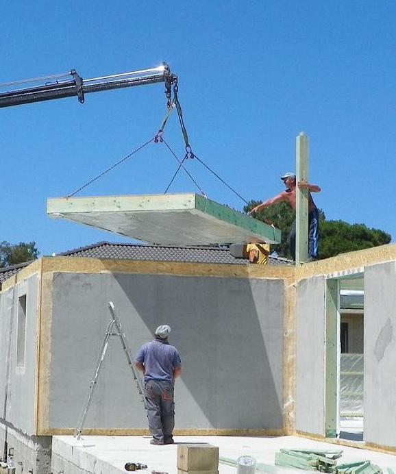 Couleur bardage for Association aide construction maison